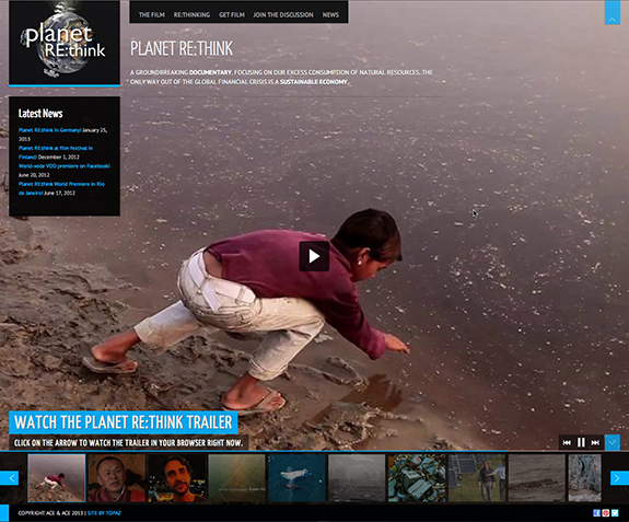 Planet rethink website